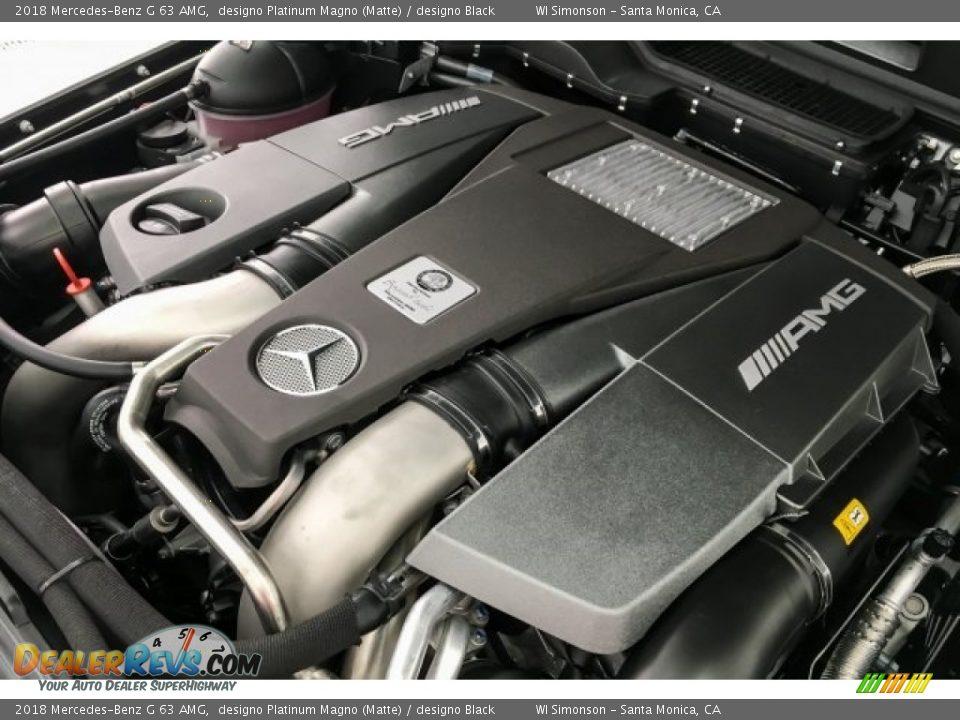 2018 Mercedes-Benz G 63 AMG designo Platinum Magno (Matte) / designo Black Photo #31