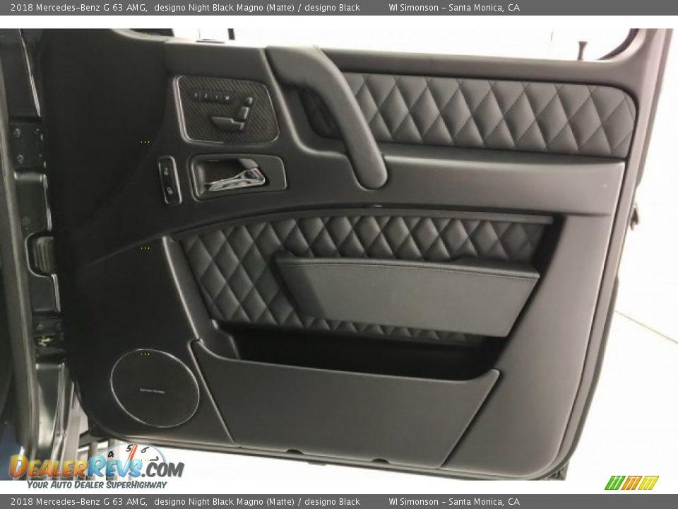 Door Panel of 2018 Mercedes-Benz G 63 AMG Photo #30