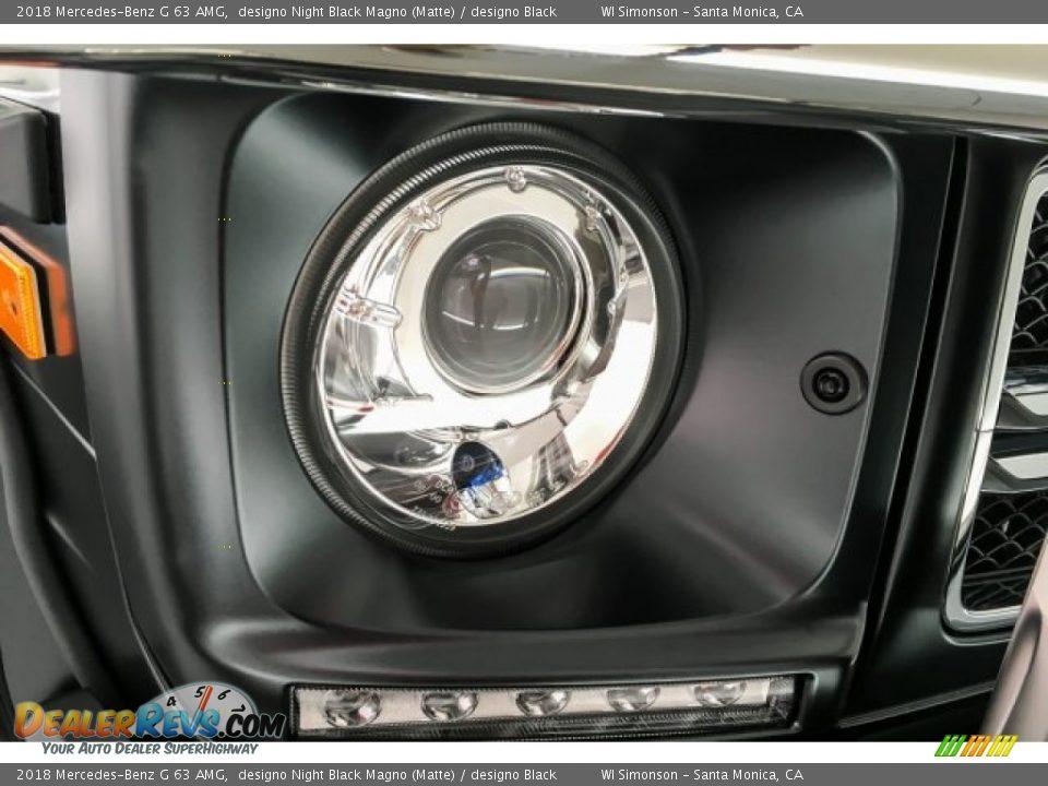 2018 Mercedes-Benz G 63 AMG designo Night Black Magno (Matte) / designo Black Photo #32