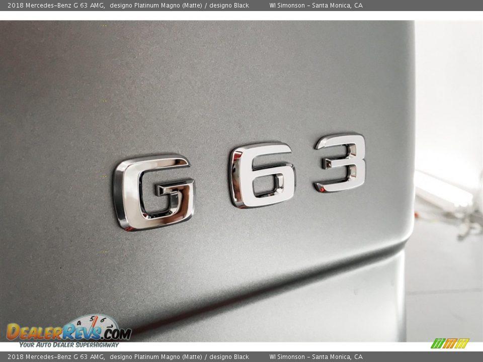 2018 Mercedes-Benz G 63 AMG Logo Photo #7