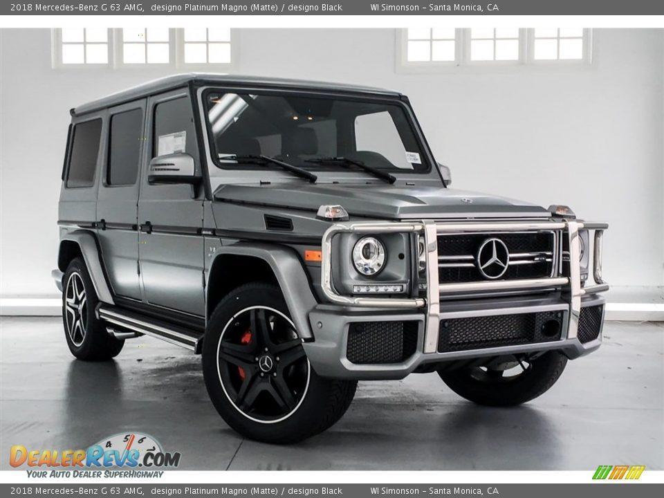 designo Platinum Magno (Matte) 2018 Mercedes-Benz G 63 AMG Photo #12