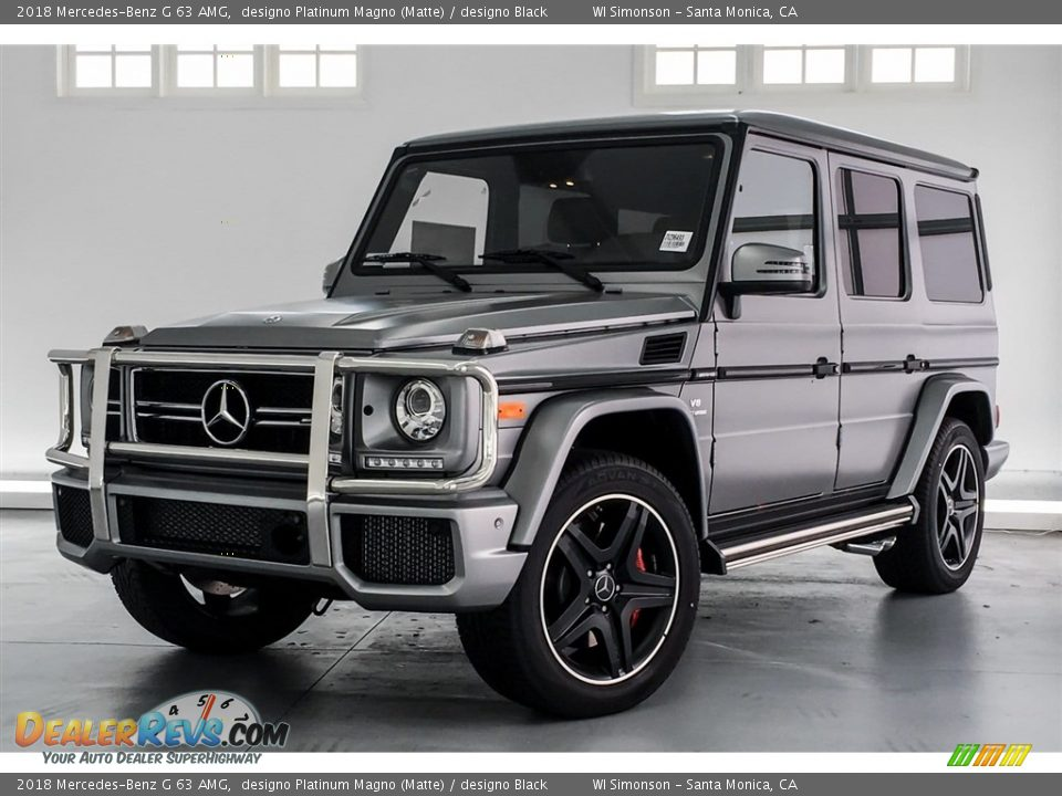 Front 3/4 View of 2018 Mercedes-Benz G 63 AMG Photo #13