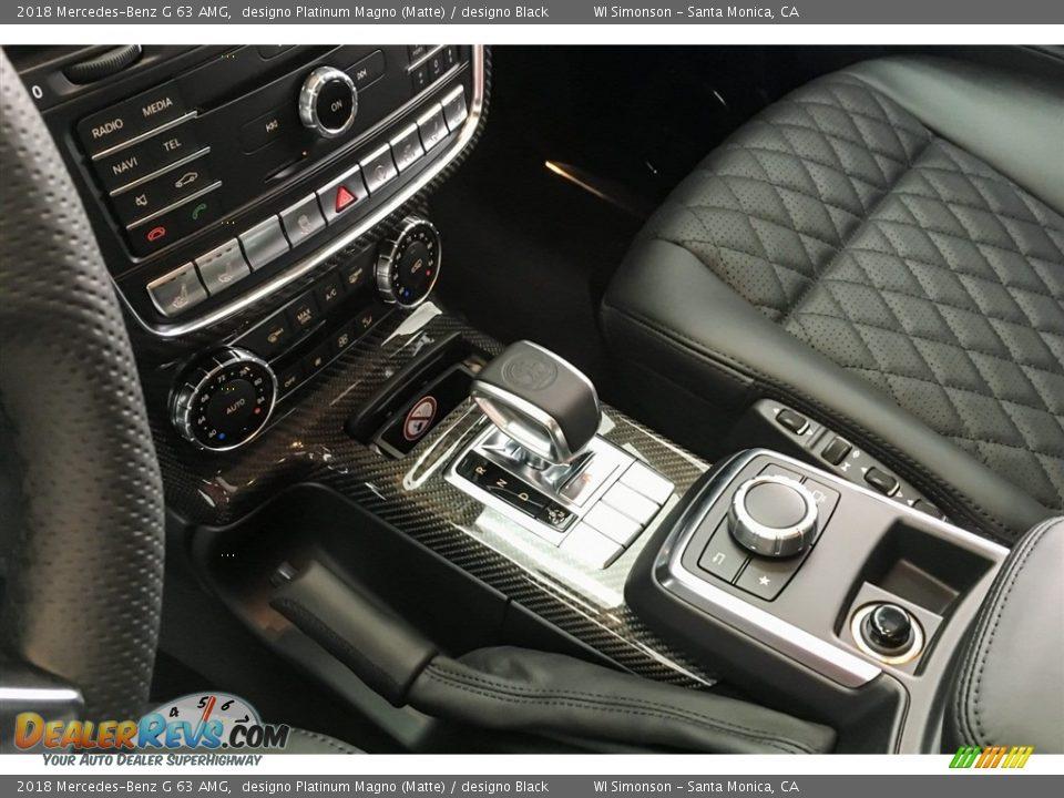 2018 Mercedes-Benz G 63 AMG designo Platinum Magno (Matte) / designo Black Photo #21