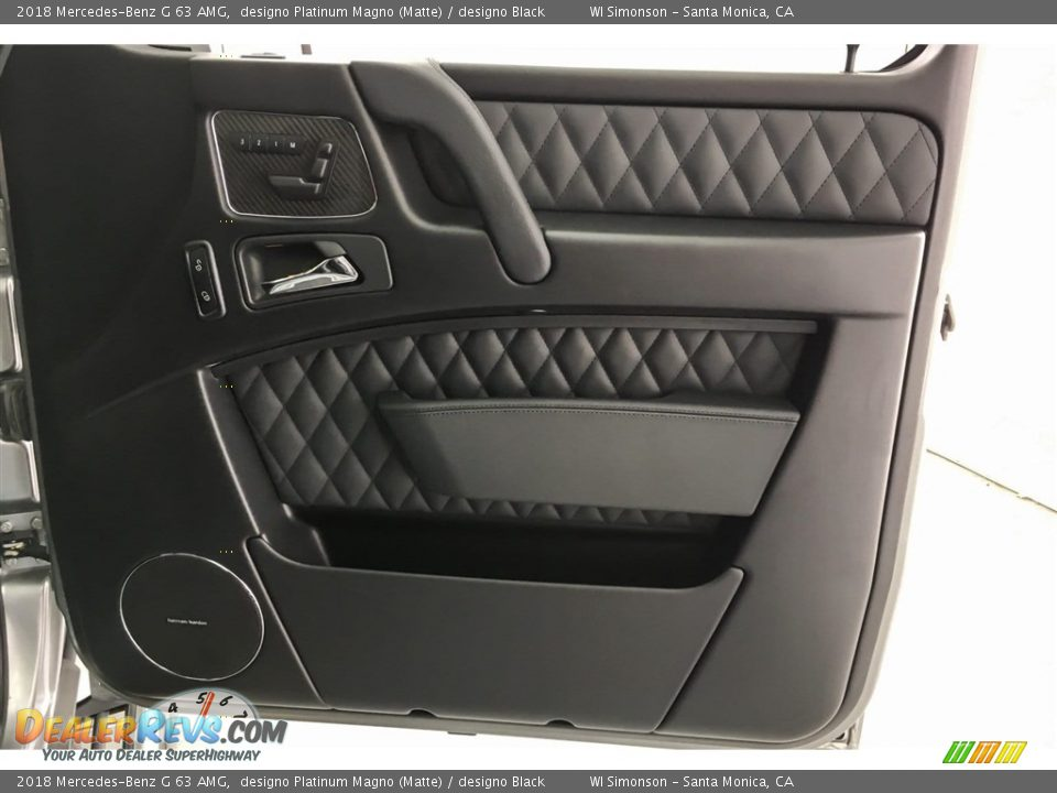 2018 Mercedes-Benz G 63 AMG designo Platinum Magno (Matte) / designo Black Photo #29