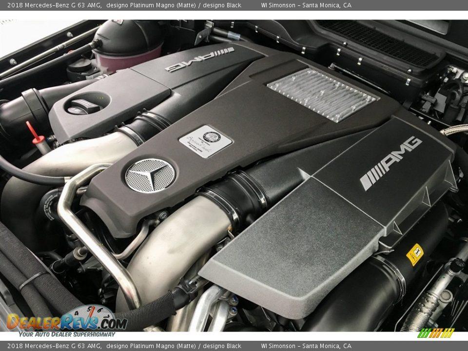 2018 Mercedes-Benz G 63 AMG designo Platinum Magno (Matte) / designo Black Photo #30
