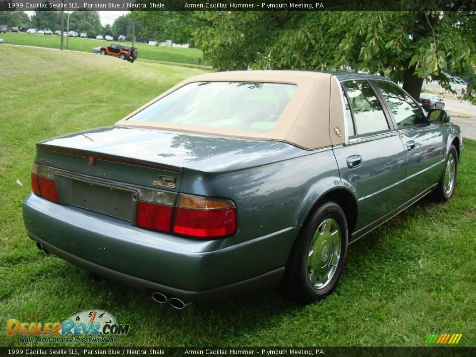 1999 cadillac seville sls parisian blue neutral shale photo 3 dealerrevs. Cars Review. Best American Auto & Cars Review