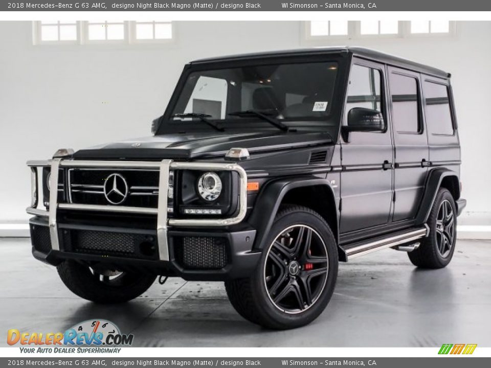 2018 Mercedes-Benz G 63 AMG designo Night Black Magno (Matte) / designo Black Photo #13