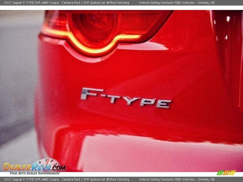 2017 Jaguar F-TYPE SVR AWD Coupe Logo Photo #18