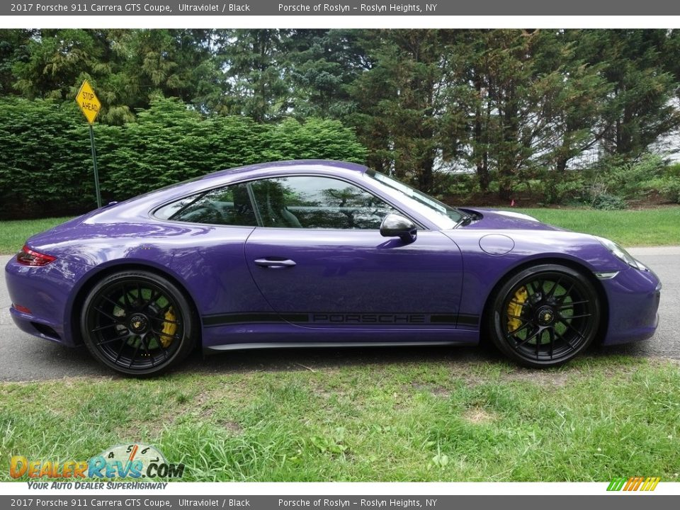 2017 Porsche 911 Carrera GTS Coupe Ultraviolet / Black Photo #7