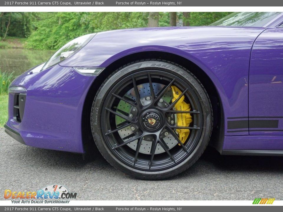 2017 Porsche 911 Carrera GTS Coupe Wheel Photo #9