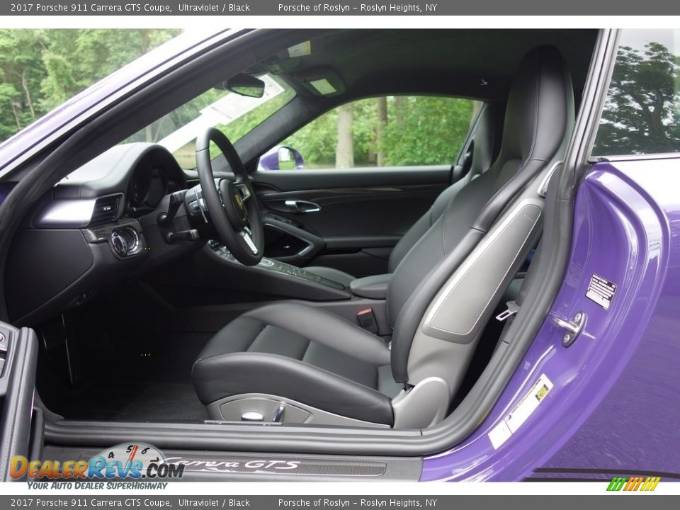 Front Seat of 2017 Porsche 911 Carrera GTS Coupe Photo #12
