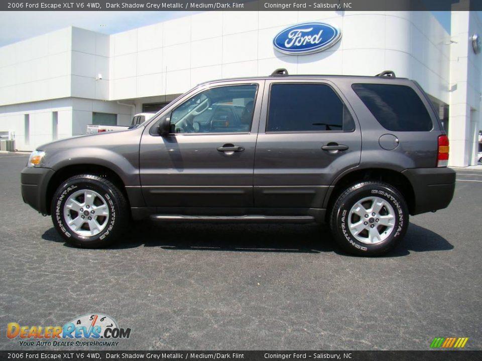 2006 ford escape xlt v6 4wd dark shadow grey metallic medium dark