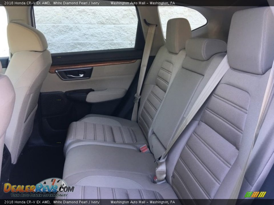 2018 Honda CR-V EX AWD White Diamond Pearl / Ivory Photo #23