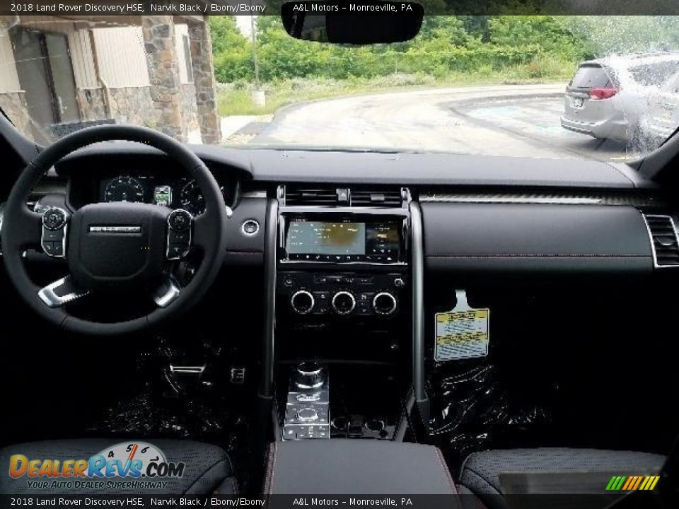 2018 Land Rover Discovery HSE Narvik Black / Ebony/Ebony Photo #4