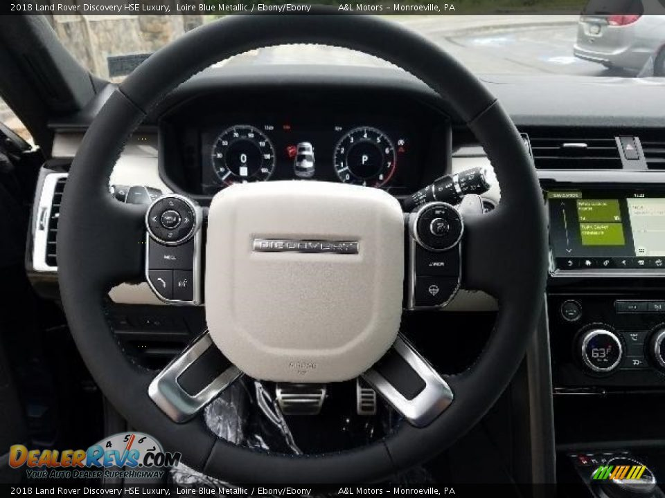 2018 Land Rover Discovery HSE Luxury Loire Blue Metallic / Ebony/Ebony Photo #14