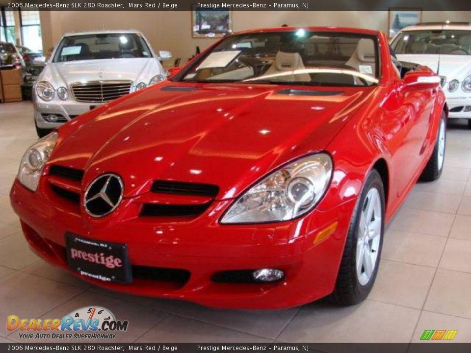 2006 mercedes benz slk 280 roadster mars red beige photo for 2006 mercedes benz slk