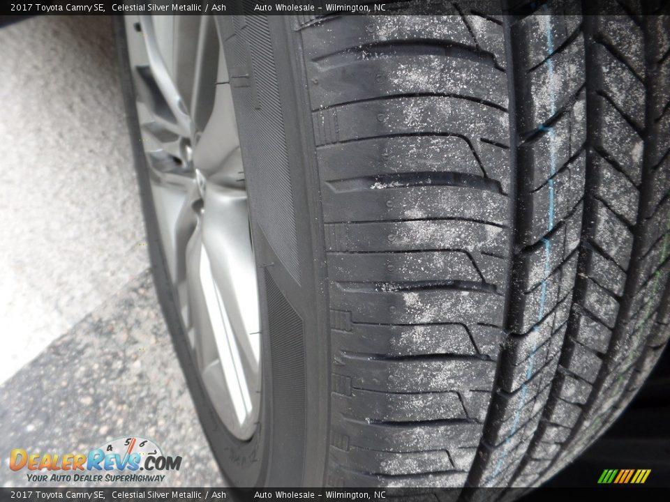 2017 Toyota Camry SE Celestial Silver Metallic / Ash Photo #9