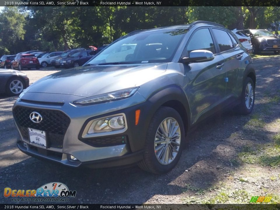 2018 Hyundai Kona SEL AWD Sonic Silver / Black Photo #1