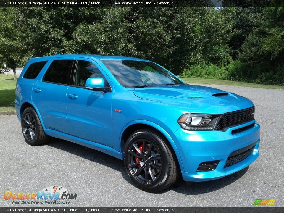 Surf Blue Pearl 2018 Dodge Durango SRT AWD Photo #4