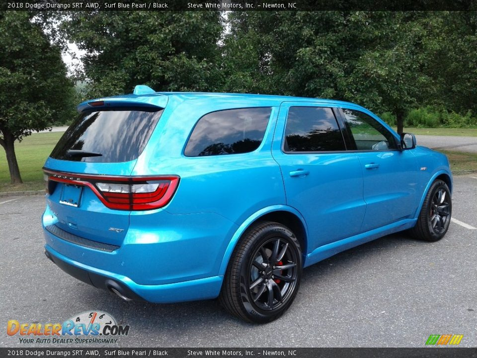 2018 Dodge Durango SRT AWD Surf Blue Pearl / Black Photo #6