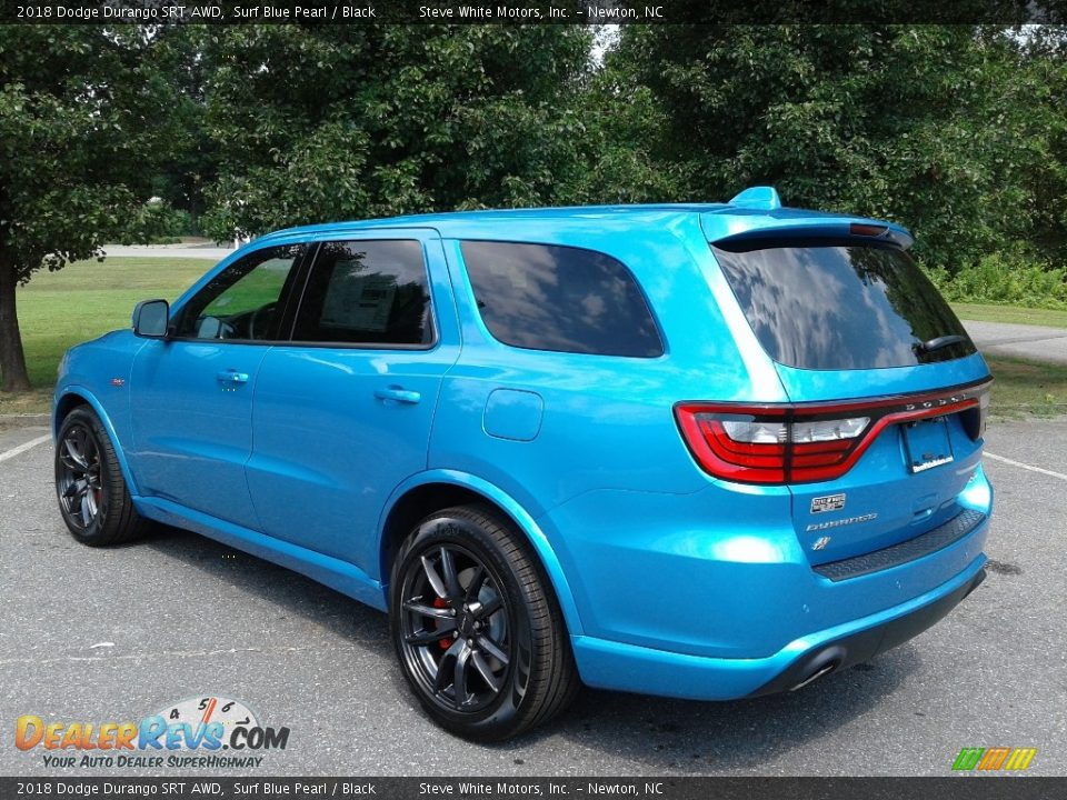 2018 Dodge Durango SRT AWD Surf Blue Pearl / Black Photo #8