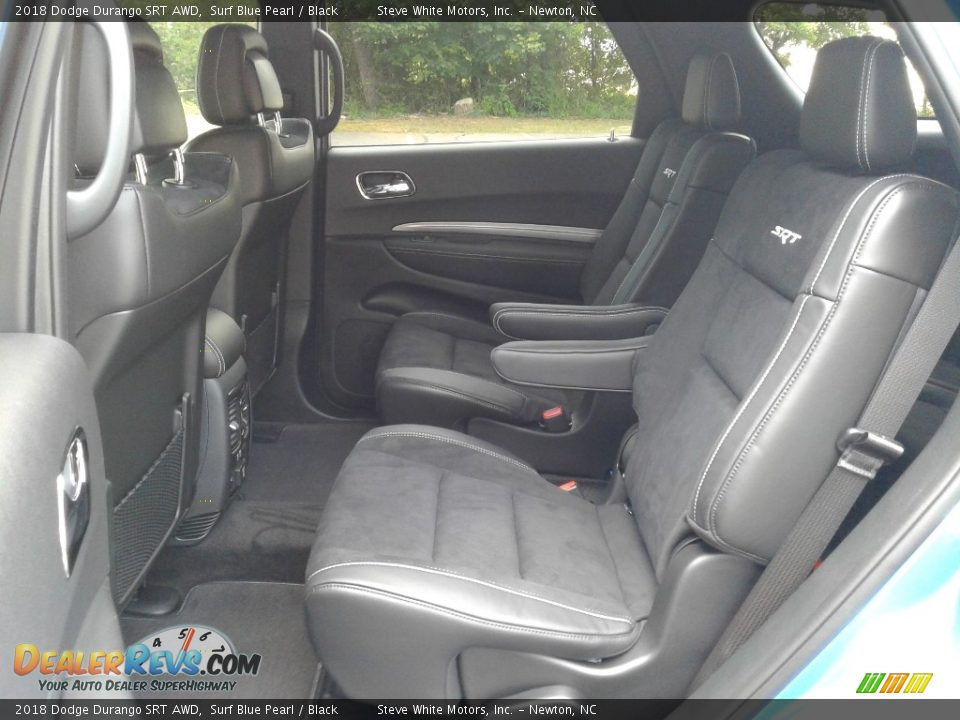 Rear Seat of 2018 Dodge Durango SRT AWD Photo #11
