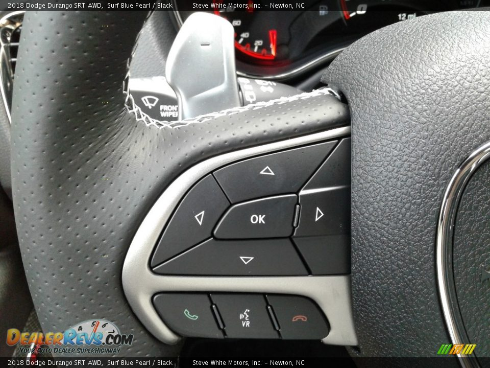 2018 Dodge Durango SRT AWD Steering Wheel Photo #21
