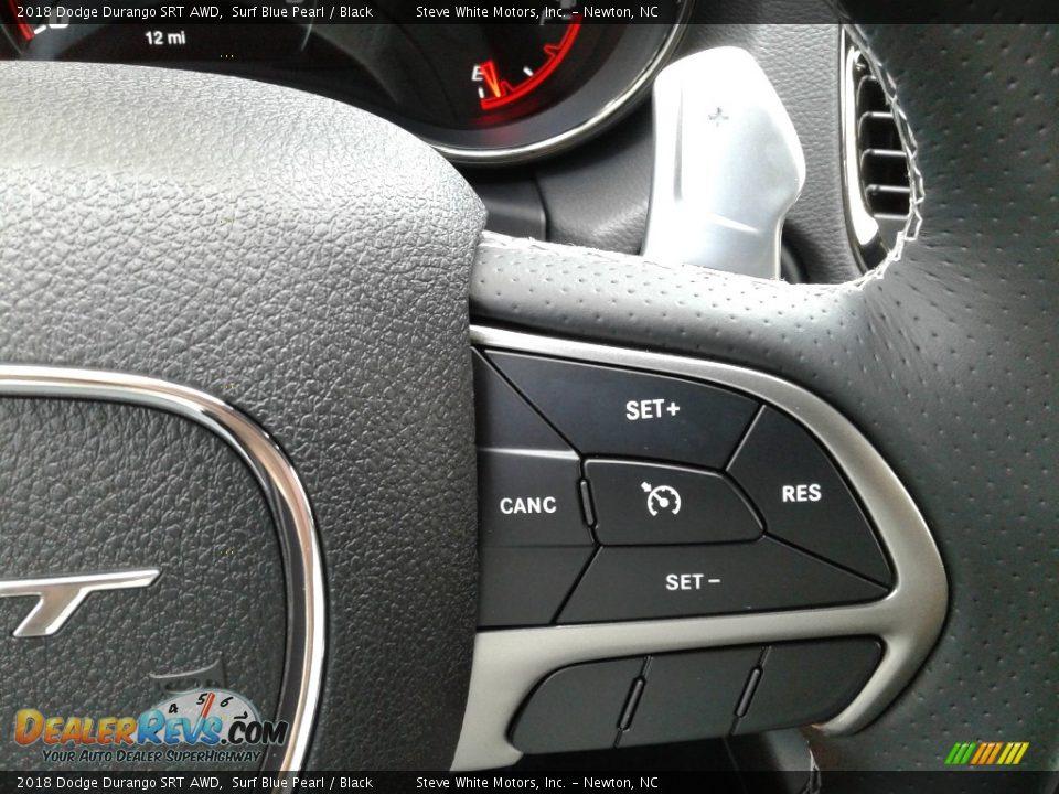 2018 Dodge Durango SRT AWD Steering Wheel Photo #22