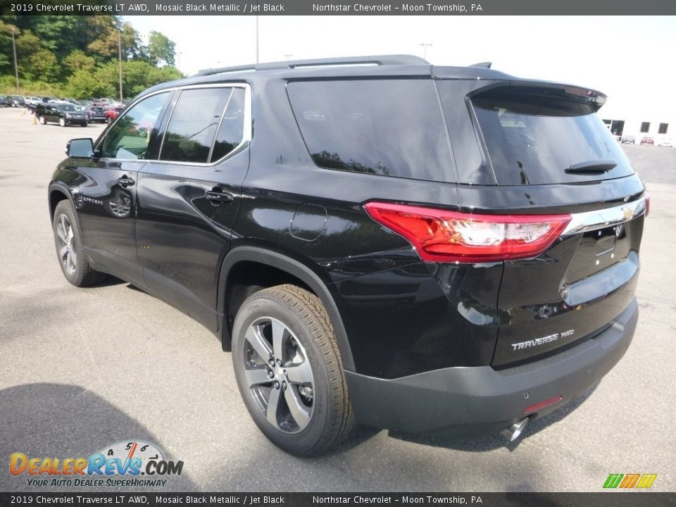 2019 Chevrolet Traverse LT AWD Mosaic Black Metallic / Jet Black Photo #2