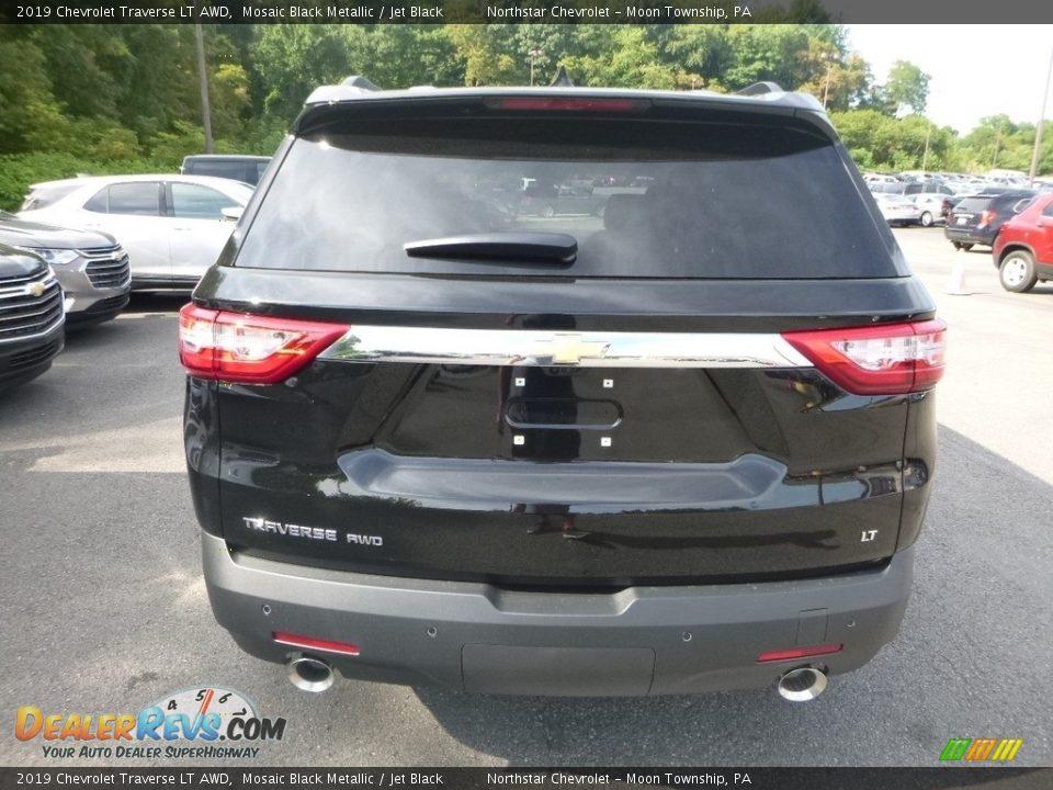 2019 Chevrolet Traverse LT AWD Mosaic Black Metallic / Jet Black Photo #3