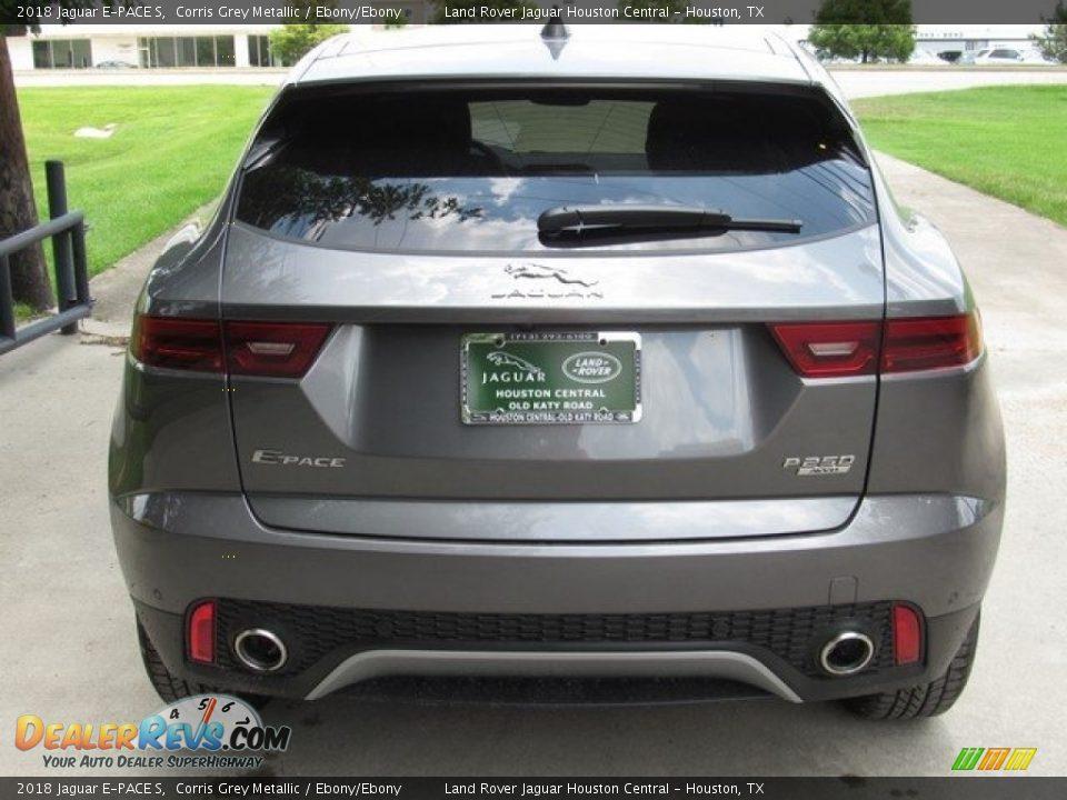 2018 Jaguar E-PACE S Corris Grey Metallic / Ebony/Ebony Photo #8
