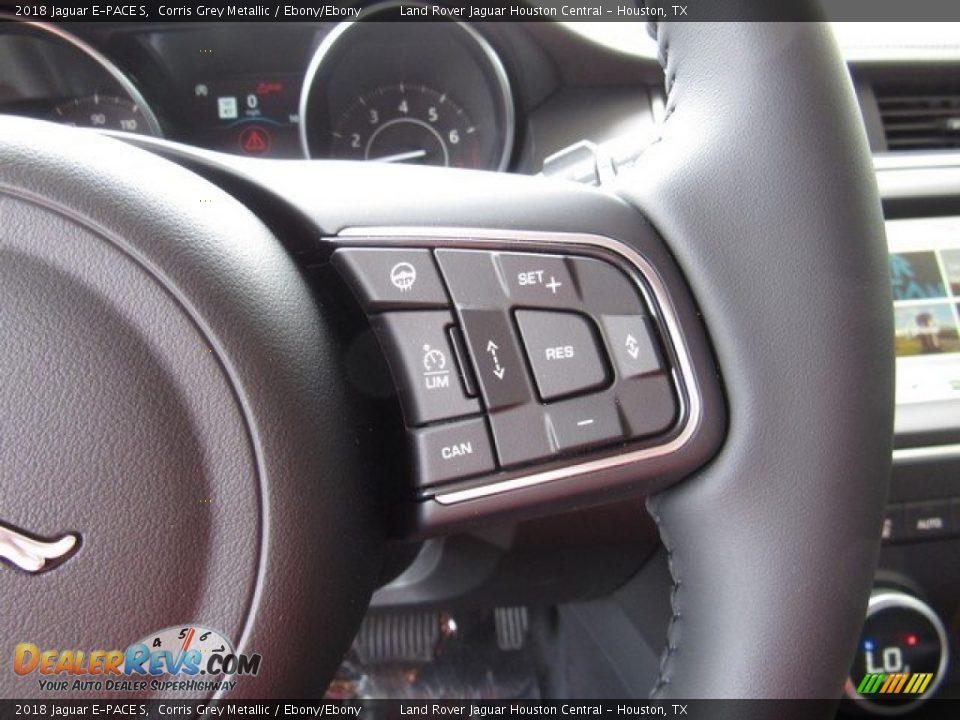 2018 Jaguar E-PACE S Corris Grey Metallic / Ebony/Ebony Photo #29