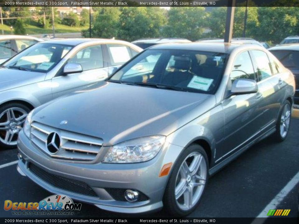 2009 mercedes benz c 300 sport palladium silver metallic for 2009 mercedes benz c 300