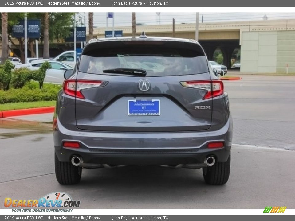 2019 Acura RDX FWD Modern Steel Metallic / Ebony Photo #6