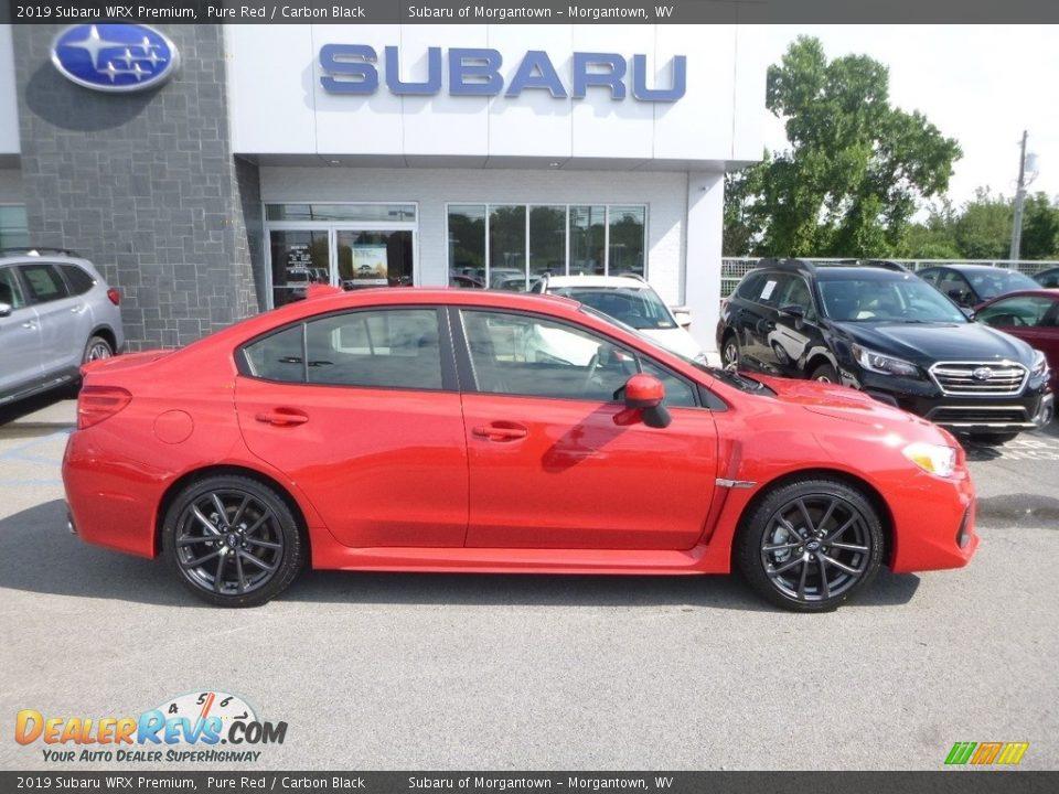 Pure Red 2019 Subaru WRX Premium Photo #3