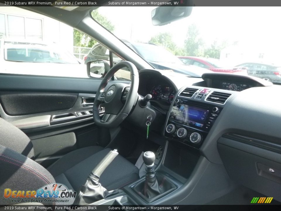 Dashboard of 2019 Subaru WRX Premium Photo #11