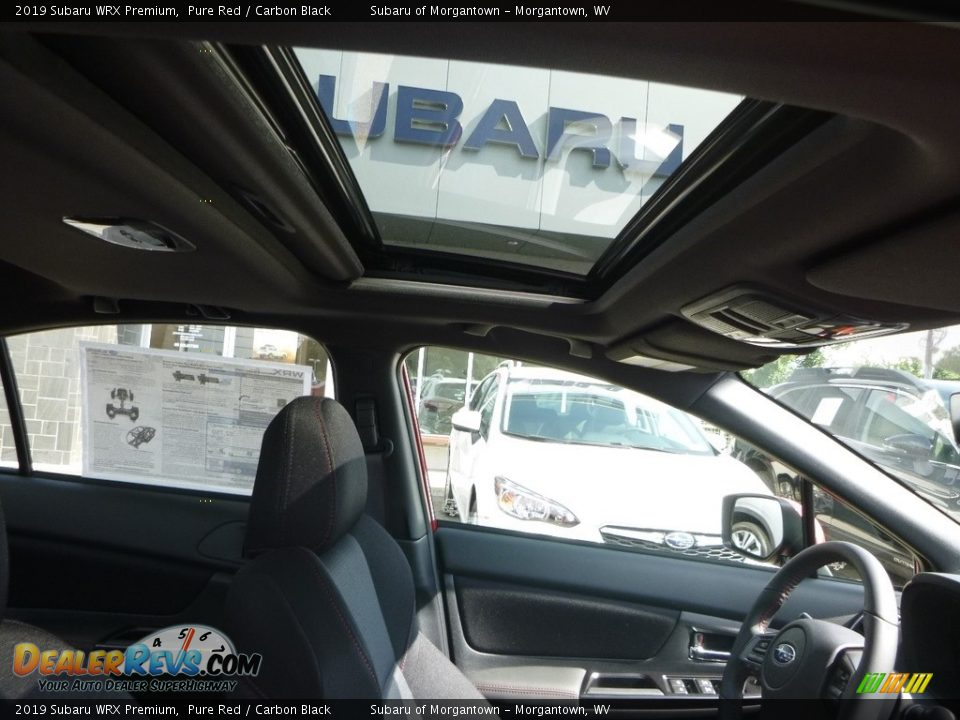 Sunroof of 2019 Subaru WRX Premium Photo #12