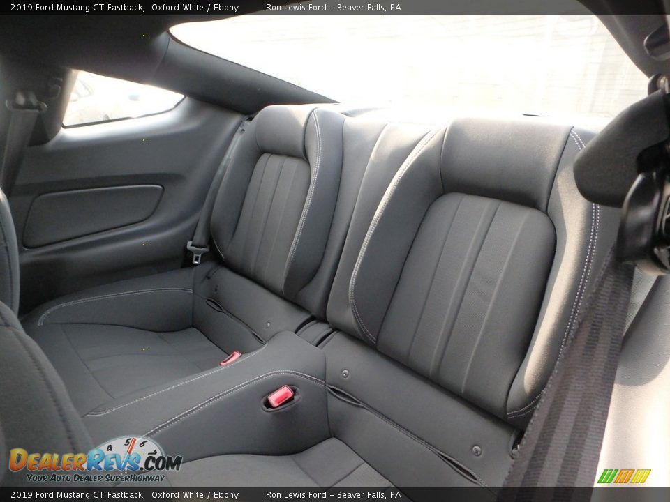 Rear Seat of 2019 Ford Mustang GT Fastback Photo #12