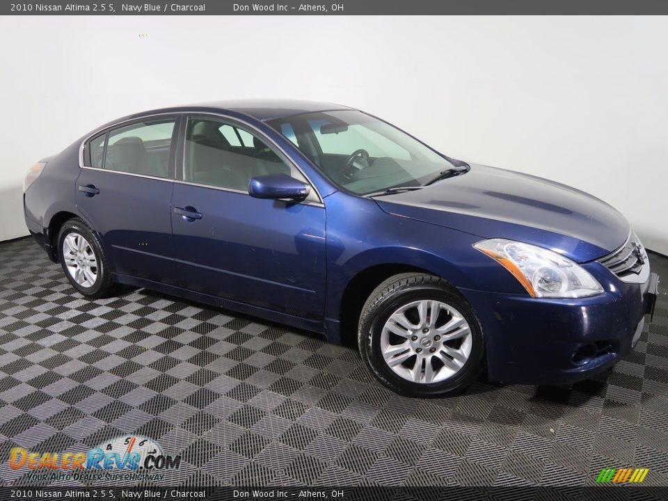 2010 Nissan Altima 2.5 S Navy Blue / Charcoal Photo #4