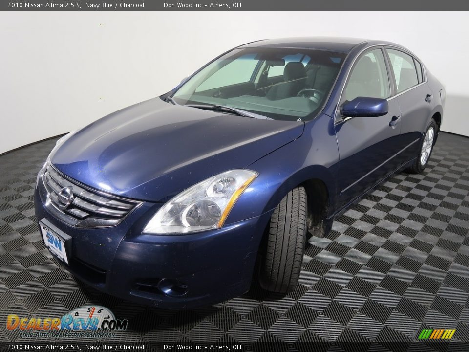 2010 Nissan Altima 2.5 S Navy Blue / Charcoal Photo #6