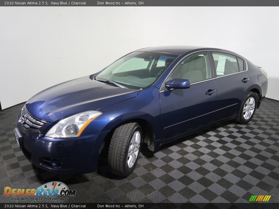 2010 Nissan Altima 2.5 S Navy Blue / Charcoal Photo #7