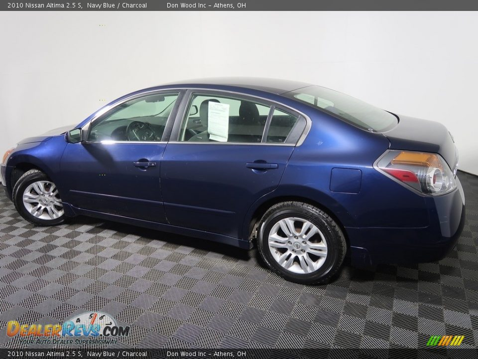 2010 Nissan Altima 2.5 S Navy Blue / Charcoal Photo #8