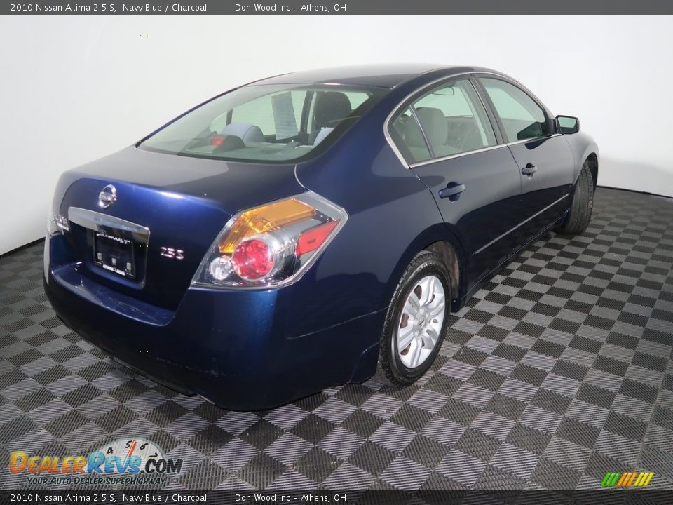 2010 Nissan Altima 2.5 S Navy Blue / Charcoal Photo #11
