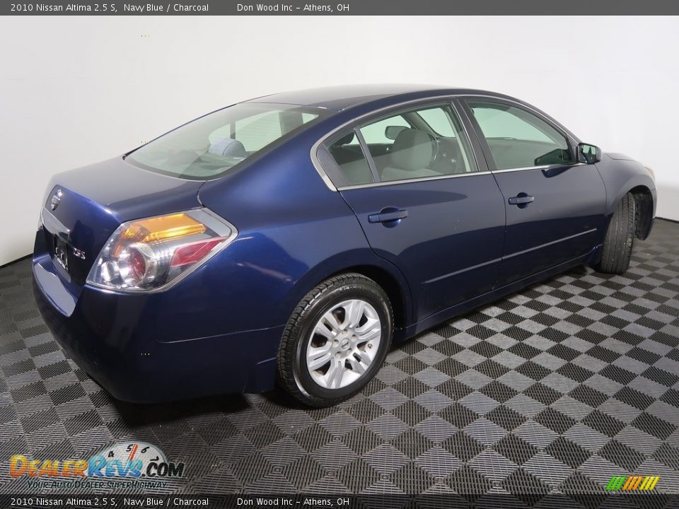 2010 Nissan Altima 2.5 S Navy Blue / Charcoal Photo #12