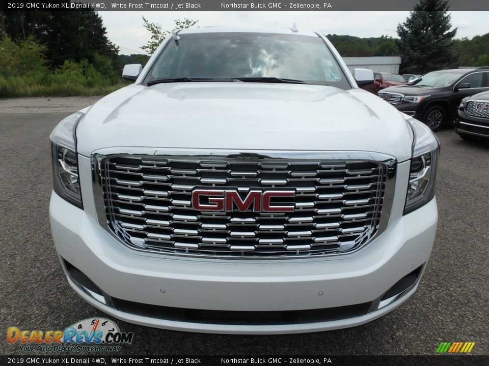 2019 GMC Yukon XL Denali 4WD White Frost Tintcoat / Jet Black Photo #2