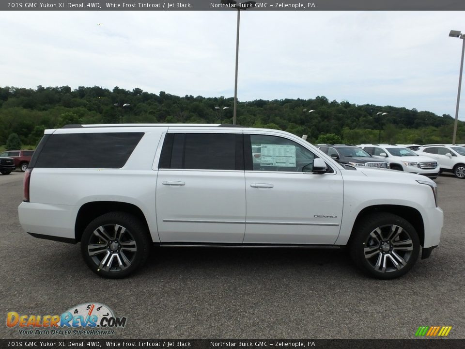 White Frost Tintcoat 2019 GMC Yukon XL Denali 4WD Photo #4