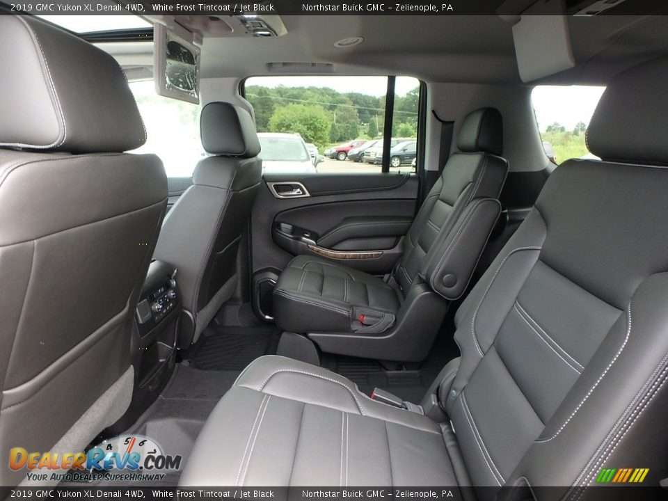 Rear Seat of 2019 GMC Yukon XL Denali 4WD Photo #11