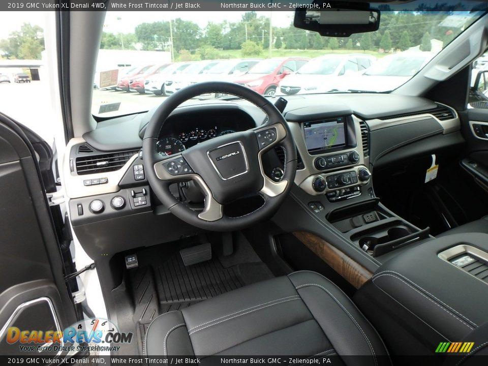 Jet Black Interior - 2019 GMC Yukon XL Denali 4WD Photo #13