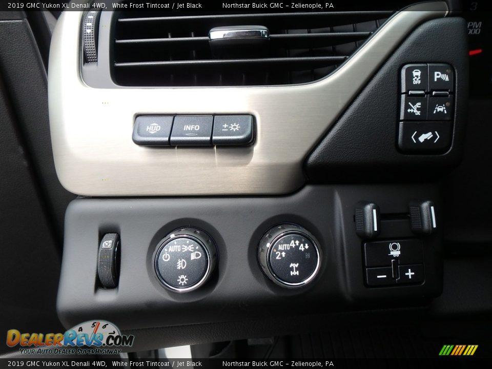 Controls of 2019 GMC Yukon XL Denali 4WD Photo #16