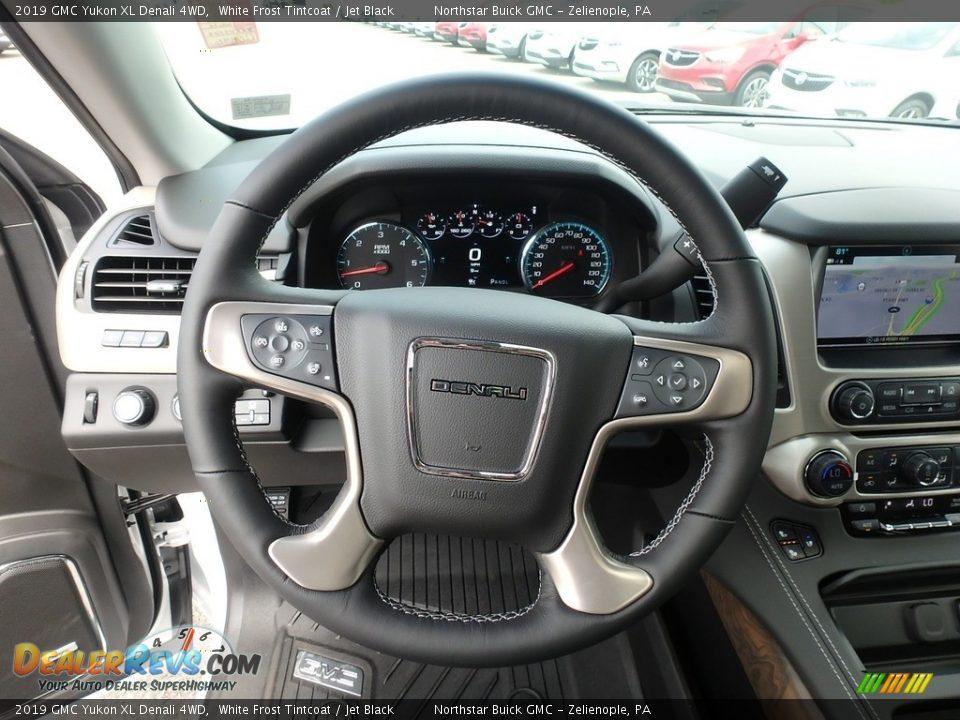 2019 GMC Yukon XL Denali 4WD Steering Wheel Photo #18